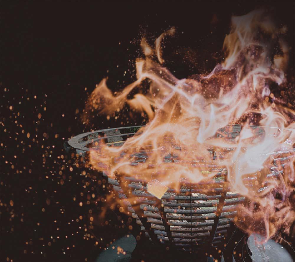 Feuerkörbe: Stahl & Cortenstahl